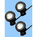 Eclairage sous-marin Multibright 3x10 dont Ecotaxe 0,25€