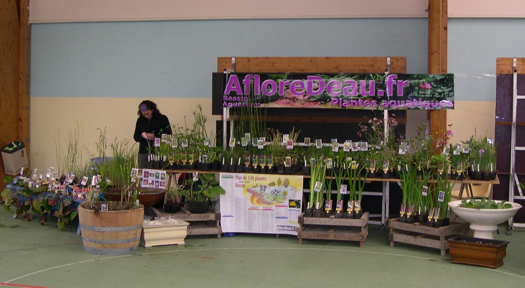 AfloreDeau.fr participe aux expositions de plantes dans le Finistère